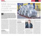 MMK Metalurji, Otomotive yönelik üretime başlayacak