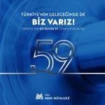 Türkiye'nin en büyük 59. kuruluşu olduk